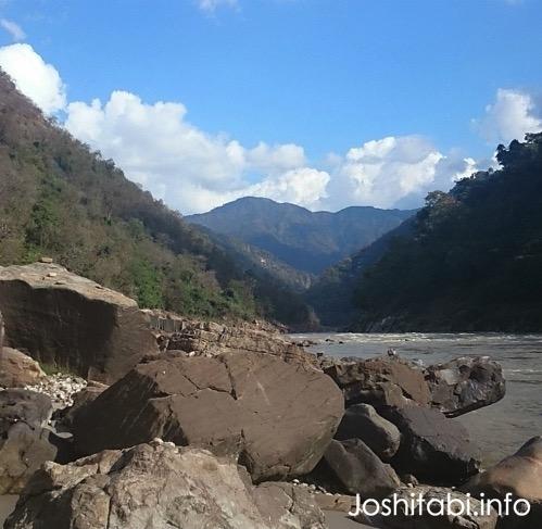 リシケシのガンジス川