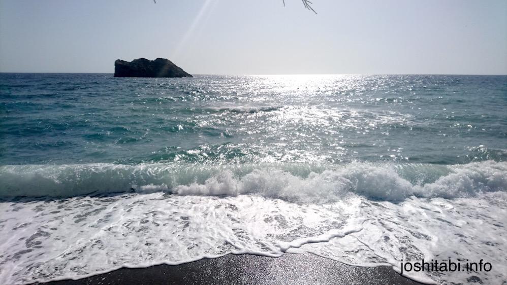 Lesvos Skala beach