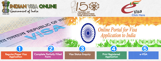 Indian Visa Application top
