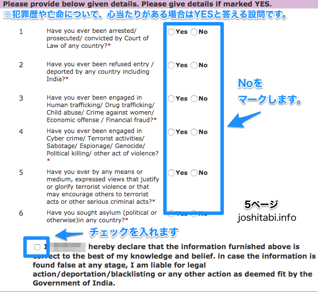 Online Indian Visa Form Japanese5